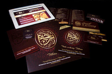 Website, Branding, Menus, Business Cards, Flyers and other promotional material