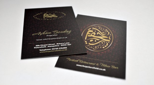 Business card design and print