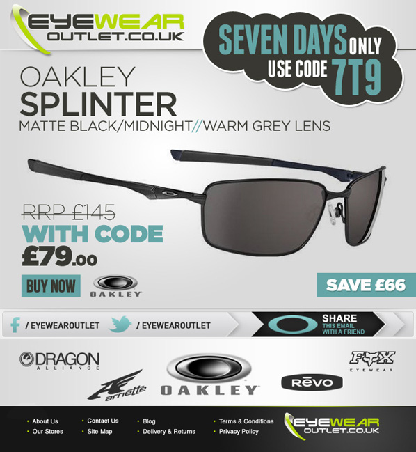 design oakley sunglasses kutx  Do you need an emailer designed and built?