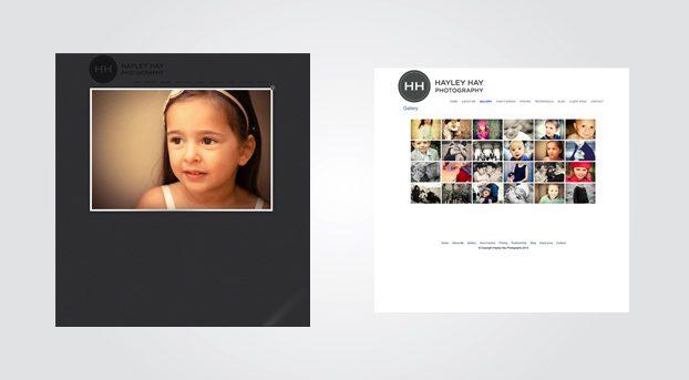 Hayley Hay Website Design